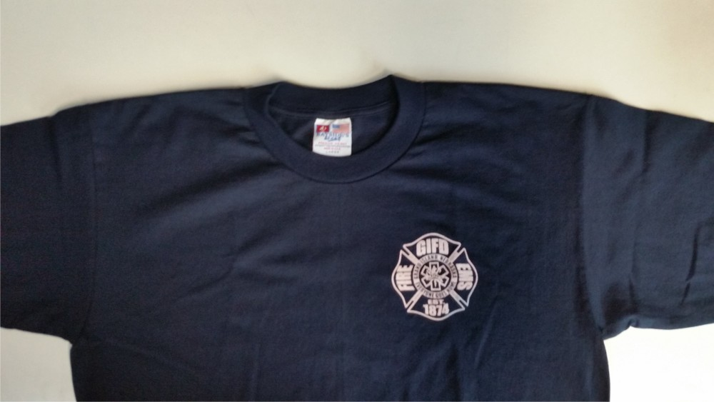 9f997a66 Bayside 50/50 SS T-Shirt – only available in navy – $12.00 ea. Gildan 50/50  Dry Blend Shirt – red ...